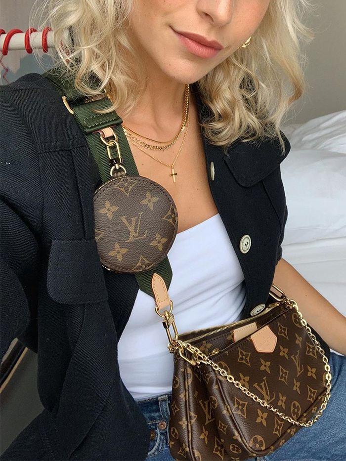 Bags Tassen Lv Lous Vuitton Satchel Multi Pochette Bag Tas Schoudertas Shoulderbag Casual Cute It Bag Ins Lv Tassen Tassen Handtassen