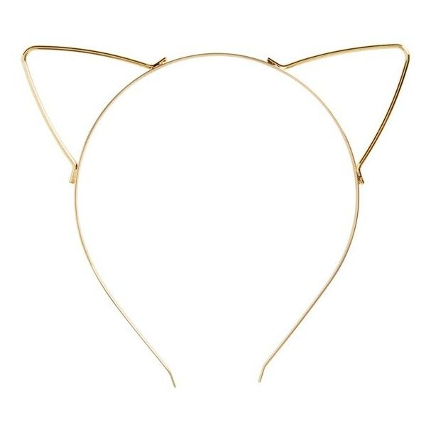 BP. Cat Ear Headband found on Polyvore featuring accessories, hair accessories, headband, jewelry, extra, gold, bp., cat ears headband, hair band headband and hair bands accessories