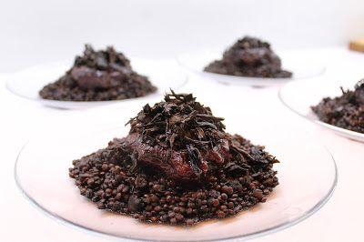 Ninnin Köökki: Beef cheeks and beluga lentils