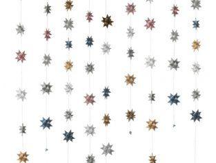 New Nordic Colors Star garlands made by Stjernestunder.dk