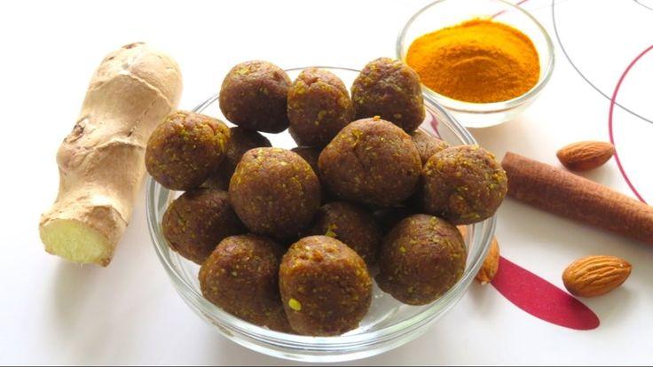 DIY Homemade Anti-Inflammatory Immune Boosting Turmeric Balls | Bhavna's Kitchen