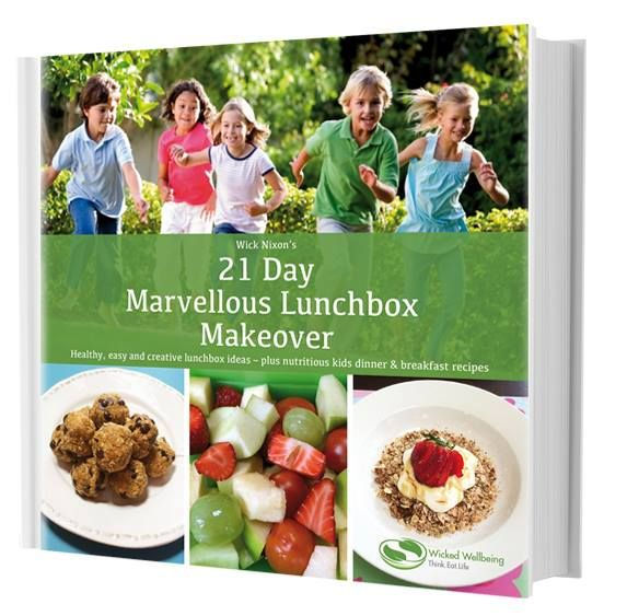 #21Day #makeover #cookbook  Included in the 64 page book are:  31 recipes and tips for creative lunchboxes (21 Day Marvellous Lunchbox Makeover) 7 easy healthy family friendly dinner recipes 6 easy healthy breakfast recipes Your guide to a perfect smoothie Nutrition & exercise advice from a Nutritionist & Personal Trainer A 5 day lunchbox planner & ingredient list