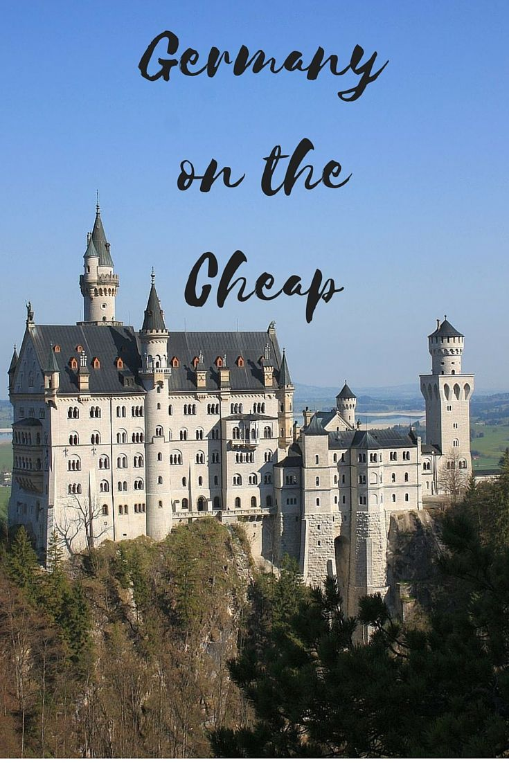 How to Travel Germany on the Cheap. Even though Germany is compact, the main cities are spread out. Travel within Germany can be pricey – but only if you don't plan in advance. As long as you know your travel dates and all your options, you can cut down your Germany travel costs to a fraction of what they would be otherwise | Globetrotter Girls
