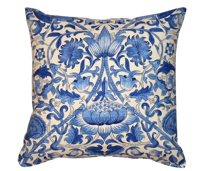 1 kudde lodden bl things i like and want pinterest william morris and ps. Black Bedroom Furniture Sets. Home Design Ideas
