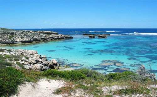 Rottnest Island - great place for swimming, cycling & having a good time.