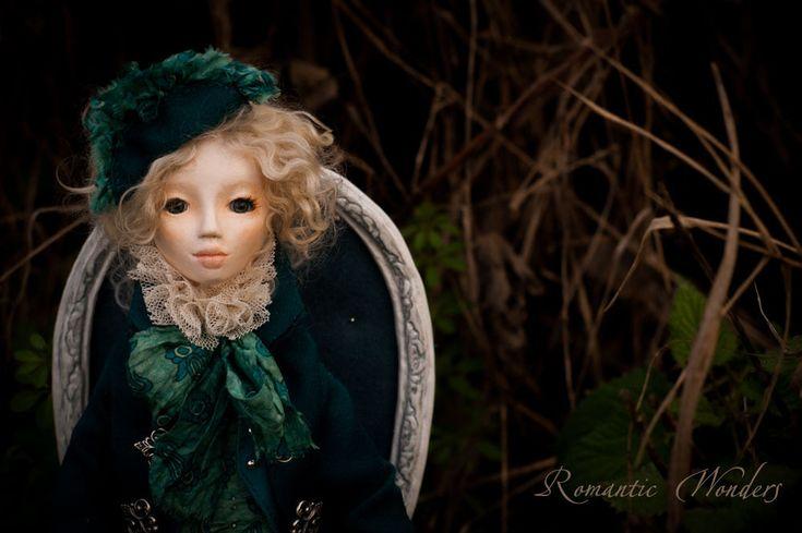 ''Erba'' handmade ooak doll by Romantic Wonders