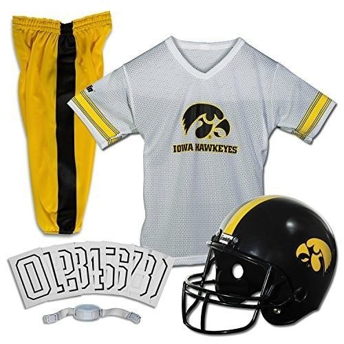 Teams Sports NCAA Iowa Hawkeyes Deluxe Youth Team Uniform Set Clothes Gifts Funs #FranklinSports #IowaHawkeyes