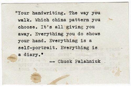 15 Brilliant Chuck Palahniuk Quotes http://www.buzzfeed.com/doubleday/15-brilliant-chuck-palahniuk-quotes-dfcu #literature #quote