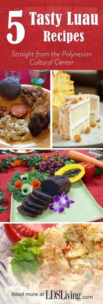 These recipes come straight from the Polynesian Cultural Center! LDSLiving.com