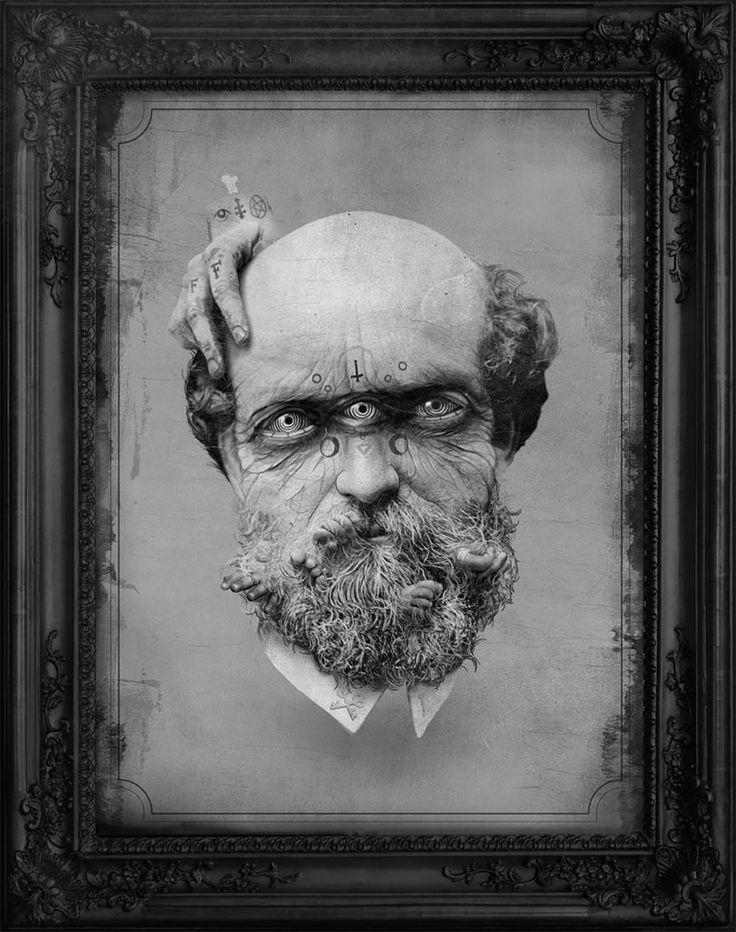 Mathijs Vissers maakt hele morbide fotocollages van hele oude foto's | The Creators Project