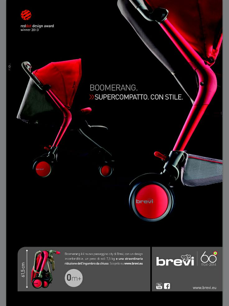 Boomerang by Brevi. Compact. With Fashion