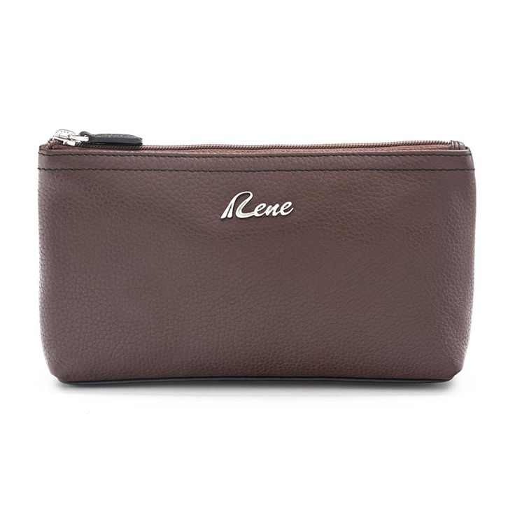 Get easy access to your cosmetics, by buying this Brown coloured cosmetic pouch by RENE. This pouch made of 100% Genuine Leather and features a top zip closure.It will be a smart and durable pick. Uniquely designed & engineeered by a team of professionals the product is made out from quality genuine leather to make …