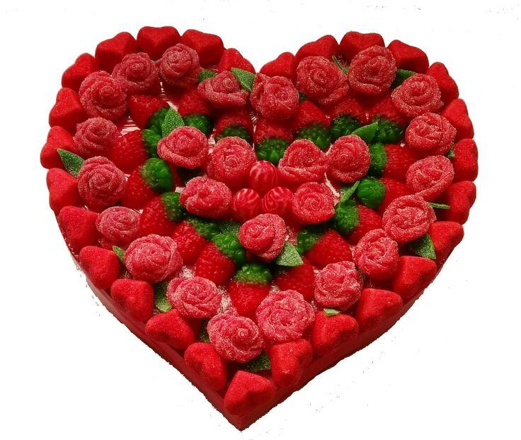 Corazón chucherías San Valentín de LACHUCHETERIA en Etsy