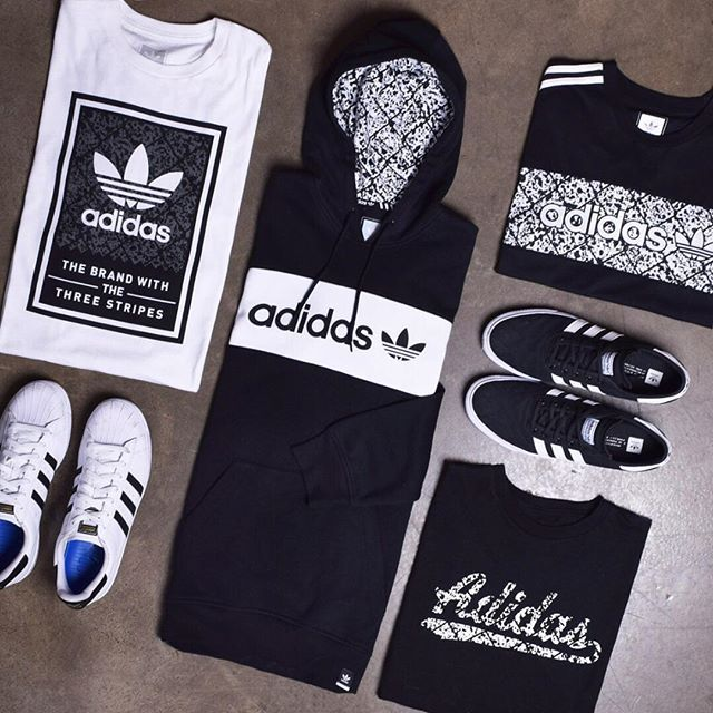 adidas taking it back to the schoolyard with their latest collection!