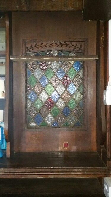 Stain glass feature