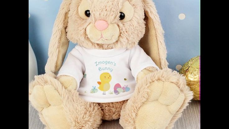 79 best personalised easter gifts images on pinterest easter gift easter bunny toys easter gifts personalised negle Gallery