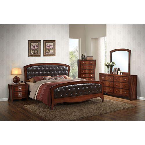 Best Elements International Jenny 7 Piece King Bedroom Group 400 x 300
