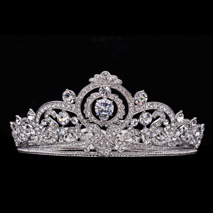 Belgian Scroll Tiara imitation. [Ebay: dream.zone] http://orderofsplendor.blogspot.com/2011/09/tiara-thursday-belgian-scroll-tiara.html