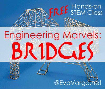 Bridges: Free Hands-on, Online STEM Class @EvaVarga.net