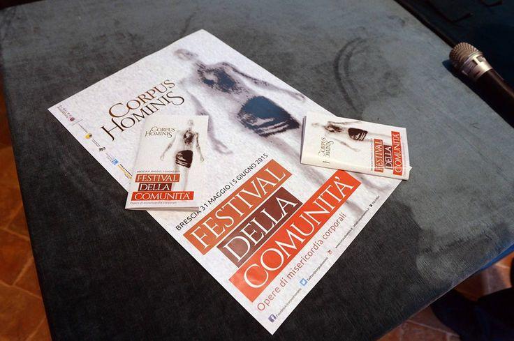 Corpus Hominis, Festival della comunità: molte iniziative ed eventipromossi dalla Diocesi di Brescia con l'intento di creare un sistema culturale che diventi metodo e che aiuti a riflettere su costruzione e vita di una comunità.