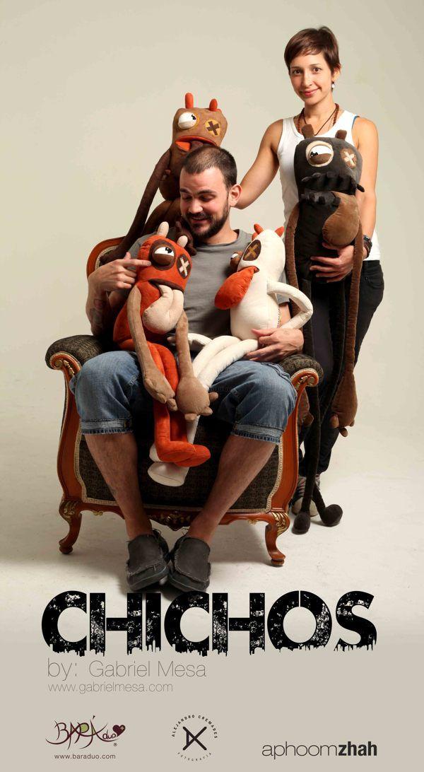 CHICHOS by Gabriel Mesa and BaraDuo  www.gabrielmesaart.com