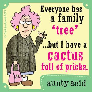 Aunty Acid Comic Strip, November 28, 2013 on GoComics.com