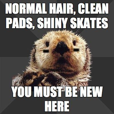 fuck yeah roller derby otter