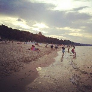 polish beach, Gdansk
