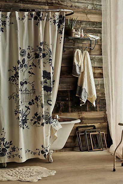 Kojani Sketch Shower Curtain Anthrofave Your Anthropologie Favorites Pinterest Beautiful