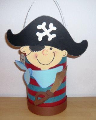 Piraten Basteln Dansenfeesten