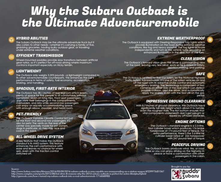 Budds' Subaru is most trusted dealers for Subaru vehicles, parts and service in Oakville and surrounding areas since 1973. We have given some reasons why the Subaru Outback is the ultimate adventuremobile.