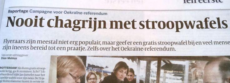 Nooit chagrijn met stroopwafels! #wafelshop www.Wafelshop.nl
