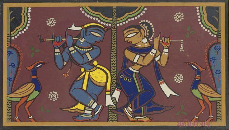 Jamini Roy - Untitled