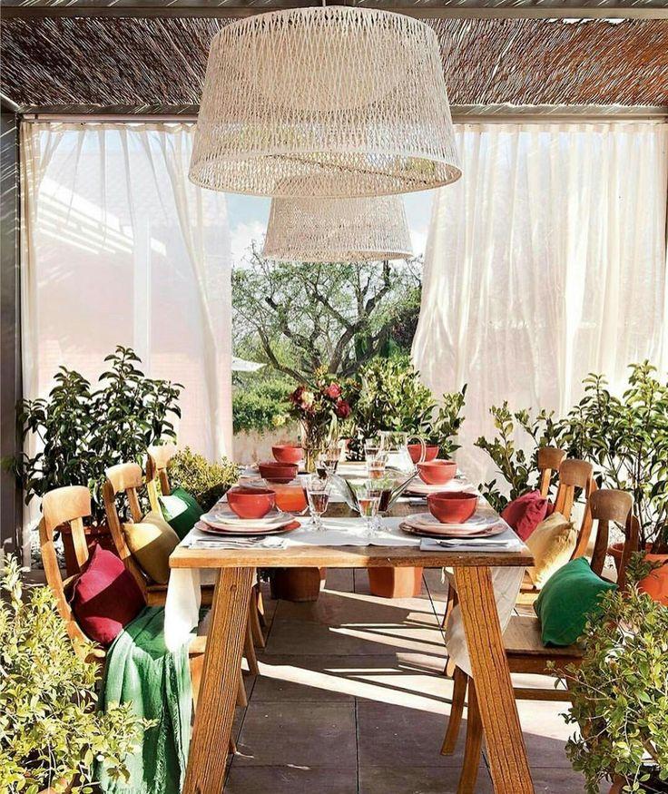 17 best ideas about rideaux et voilages on pinterest voilage blanc voilage - Rideaux style cottage ...