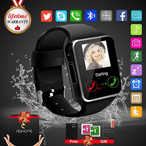 Bluetooth Smart Watch Touchscreen with Camera,Unlocked Watch Cell Phone with Sim Card Slot,Smart Wrist Watch,Waterproof Smartwatch Phone for Android Samsung IOS Iphone 7 Plus (black) (black) #Bluetooth #Smart #Watch #Touchscreen #with #Camera,Unlocked #Cell #Phone #Card #Slot,Smart #Wrist #Watch,Waterproof #Smartwatch #Android #Samsung #Iphone #Plus #(black) http://relationshipmagicvips.blogspot.com.co/