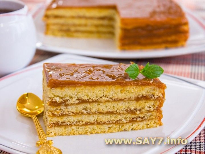 Торт «Песочный»