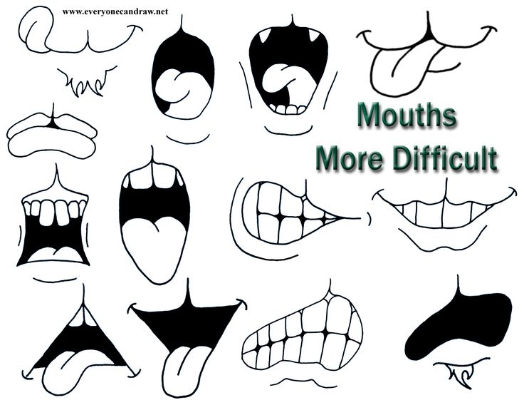 Animal's mouths more difficult a