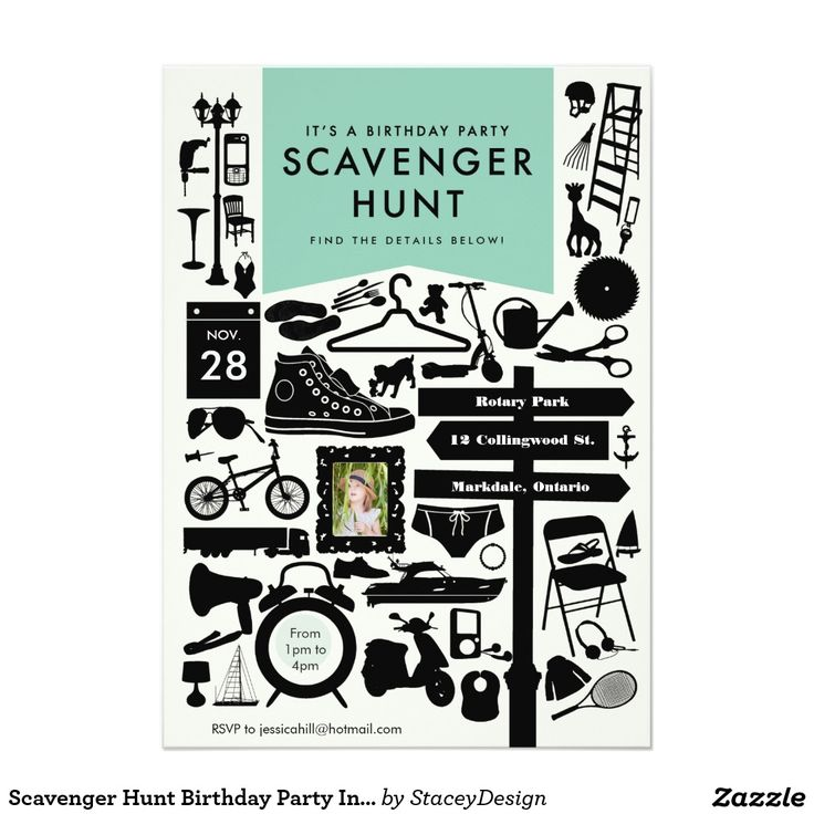 1000+ Ideas About Scavenger Hunt Party On Pinterest