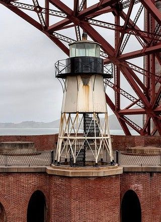 Fort Point Lighthouse San Francisco