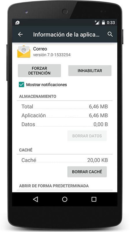Inhabilitar aplicaciones o Habilitar aplicaciones en Android