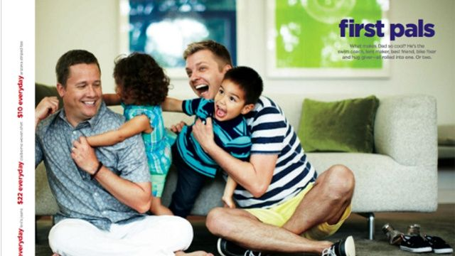 JCPenney Responds to Homophobic Boycott Calls with Father's Day Ad - LOVE THIS.