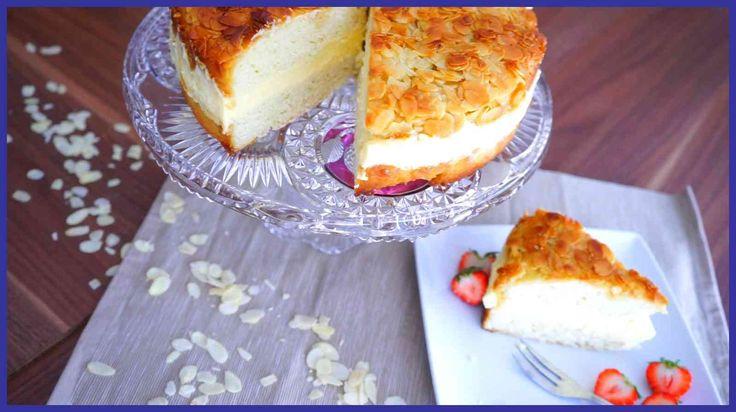 Bienenstich - Klassiker der Torten - Bienenstich Torte - Beesting Cake -...
