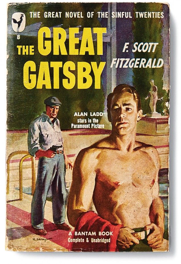 """Great Gatsby Book Cover Ideas ~ This history of the cover art for """"the great gatsby"""