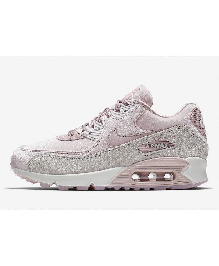 Chaussures De Sport Bas Air Max 90 Lx Gris / Violet Nike EHvBquBD