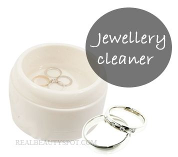 natural jewellery cleansers - DIY