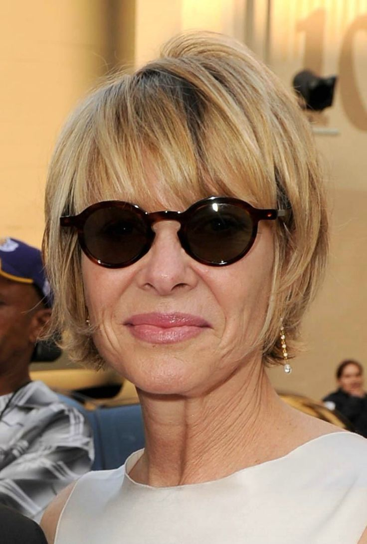 Short hairstyles with glasses - Short Hairstyles For Women Over 50 With Fine Thin Hair Women Short