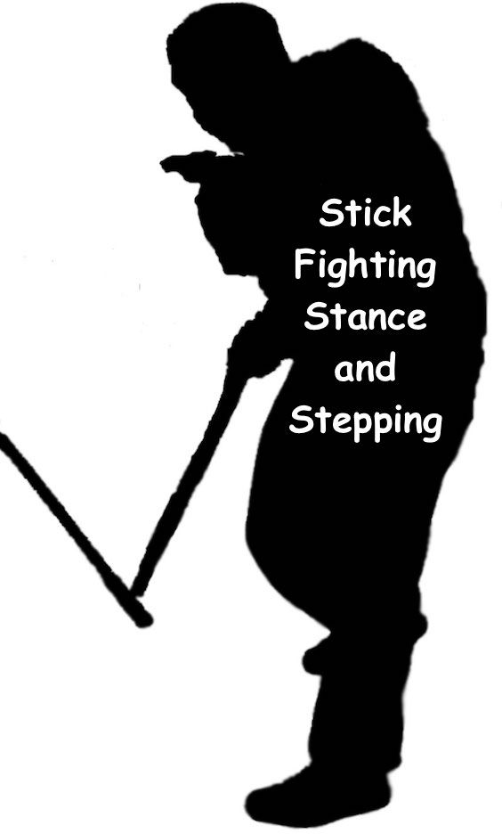 Learn the best stance and footwork for no-nonsense stick-fighting. #stickfighting #arnis https://www.survivalfitnessplan.com/stick-fighting-stance-and-stepping/