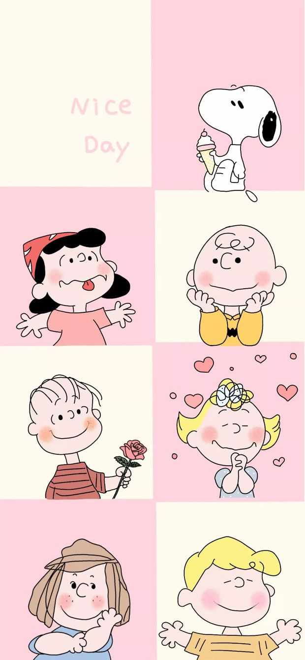 Pink snoopy wallpaper for Android and iPhonesnoopyfunny