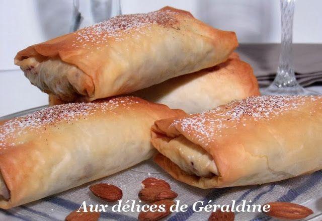 Aux délices de Géraldine: Pastilla de poulet aux amandes