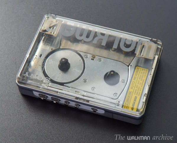 The SONY Walkman WM-504 Transparent. Late 80s. Still got one in mint condition, never used.